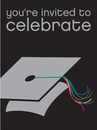 Congrats Graduate Graduation - Invitations Party Accessory