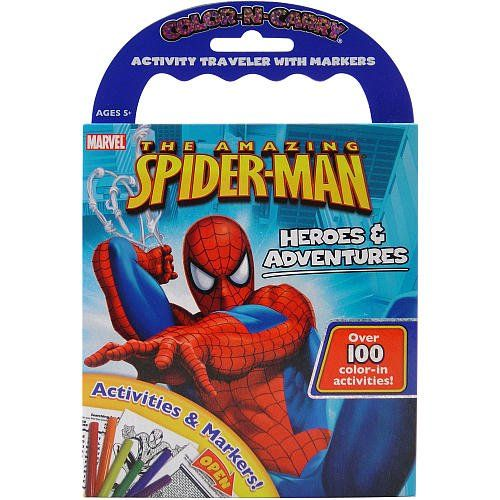Color N Carry - The Amazing Spider-man Heroes & Adventures