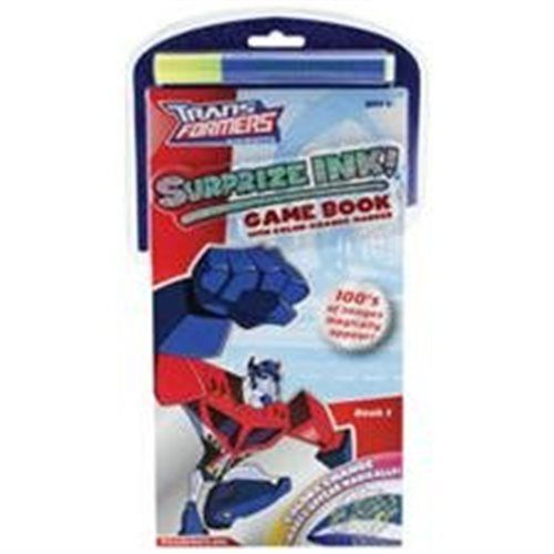 TRANSFORMERS SURPRIZE INK! GAME BOOK 1