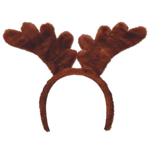 Soft-Touch Reindeer Antlers Party Accessory (1 count) (1/Pkg)