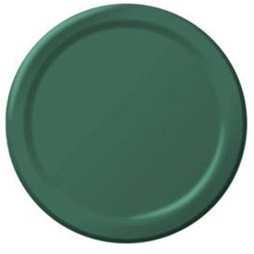 Forest green plates luncheon