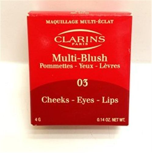 Clarins Multi-blush #03 Tender Apricot, Cheeks-eyes-lips