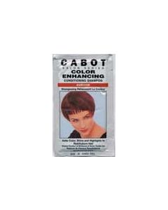 Cabot Color Enhancing -Auburn-(conditioning Shampoo)  with vitamin E - Case of 24 Packs