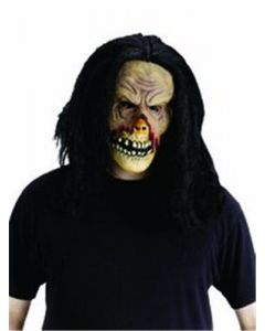 WMU Zombie Skull Mask with Hair