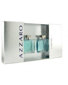 Chrome Coffret: Eau De Toilette Spray 100ml/3.4oz + After Shave Lotion 100ml/3.4oz 2pcs
