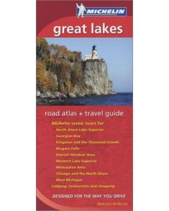 Michelin Great Lakes Road Atlas & Travel Guide (MICHELIN GREAT LAKES/ONTARIO ATLAS & TRAVEL GUIDE)