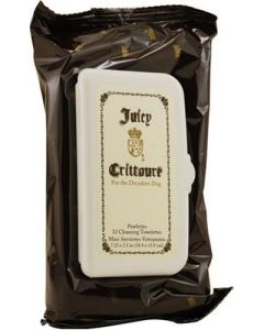 Juicy Crittoure by Juicy Couture. Pawlettes Cleansing Towlettes For Dogs (32 Pads)