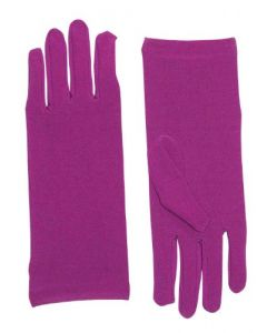 Forum Novelties Women's Novelty Short Dress Gloves, Purple, One Size