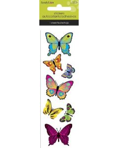 Butterflies Slim Stickers