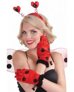 Lady Bug Gloves - Adult Std.