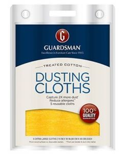 Lot of 2 - Guardsman Dusting And Cleaning Cloth