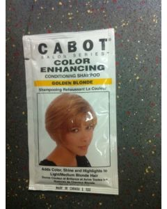 Cabot Color Enhancing -Golden Blonde-(conditioning Shampoo) with vitamin E - Case of 24 Packs