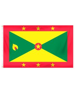 Grenada Outdoor Flag with Brass Grommets 100% Polyester [3' x 5']