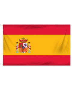 Spain Outdoor Flag with Brass Grommets 100% Polyester [3' x 5']
