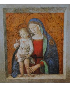 Madonna And Child Painting - Pinturicchio - TREASURES, INC.