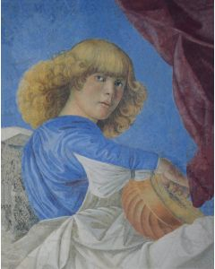 Angel Portfolio 4 Paintings Set - Melozzo da Forli Angels /  Raphael's Praying Cherubs - TREASURES, INC.