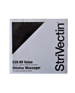Brand NEW Strivectin Portable Hand Held Shiatsu Massager with Batteries Included