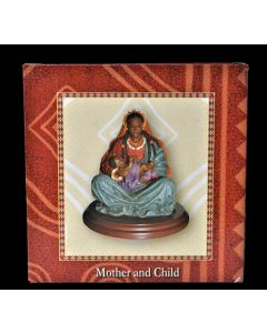 African American Mother and Child Collectible Figurine (6 Units Included)