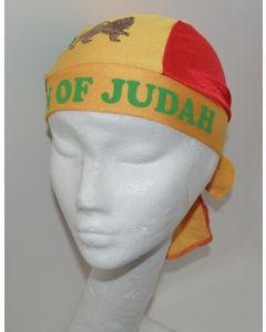NEW Unisex Headwear - LION OF JUDAH Design Polyester Spandex Blend Du-Rag