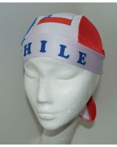 NEW Americas Unisex Headwear - CHILE Design Polyester Spandex Blend Du-Rag
