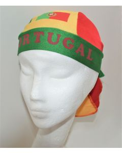 NEW European Unisex Headwear - PORTUGAL v2 Design Polyester Spandex Blend Du-Rag
