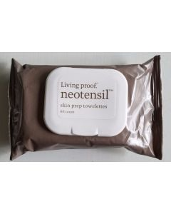 Living Proof Neotensil Skin Prep Towelettes 60 Count
