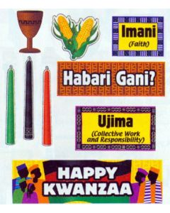 Kwanzaa Mini Bulletin Board Set