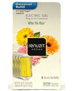 30 Pack Renuzit Gel Electric Air Freshener Refill, After The Rain, .68 Ounce (5 Refills per pack)