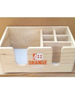 Professional 4 Orange Vodka Napkin Holder - Commercial quality